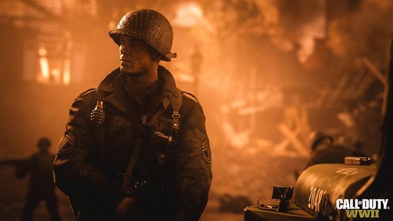 Call of Duty: WWII— игра из серииCall of Duty, трёхмерный шутер от первого лица.